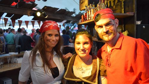 Bartour im Pirates